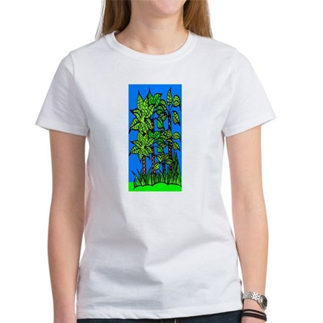 Abstract Trees Women's T-Shirt