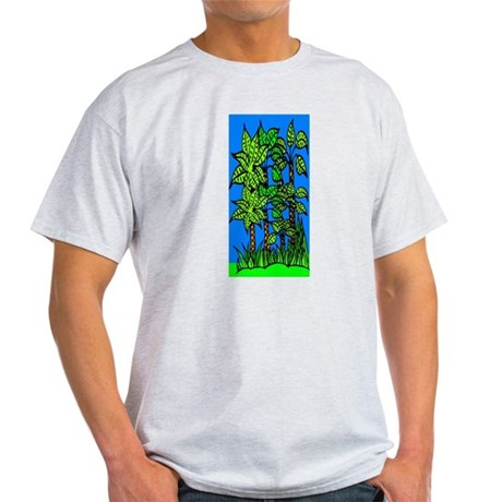 Abstract Trees Light T-Shirt