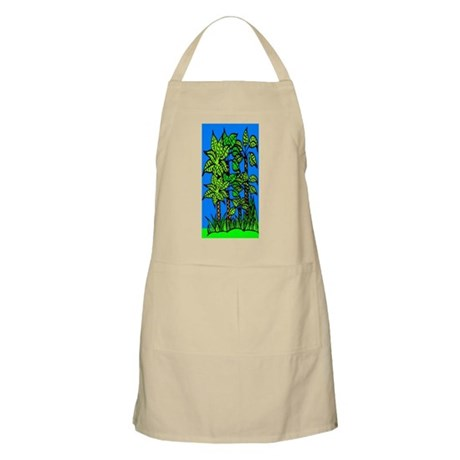 Abstract Trees Apron