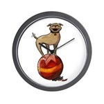 Tripawds Have A Ball Wall Clock