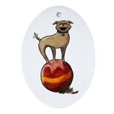Tripawds Have A Ball Ornament (Oval)