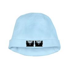 Bright Eyes - Sans Print baby hat