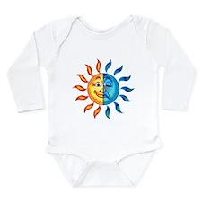 BiPolar Solar Long Sleeve Infant Bodysuit