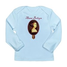 Anne Boleyn - Woman Long Sleeve Infant T-Shirt