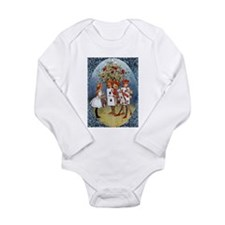Painting the Roses Long Sleeve Infant Bodysuit
