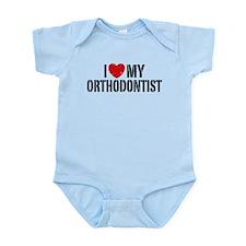 I Love My Orthodonist Infant Bodysuit