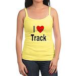 I Love Track Jr. Spaghetti Tank
