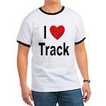I Love Track (Front) Ringer T