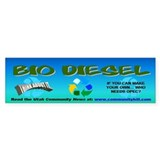 BIO DIESEL BUMPER STICKER
