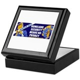 No Privacy Keepsake Box