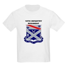 18TH INFANTRY REGIMENT Kids T-Shirt