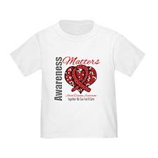 Heart Disease Mosaic T