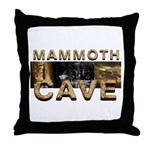 ABH Mammoth Cave Throw Pillow