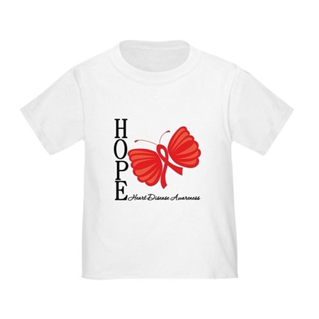 Heart Disease HopeButterfly Toddler T-Shirt