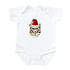 Holiday Chipmunk Baby Onsie Short