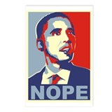 NOPE - Obama Postcards (Package of 8)