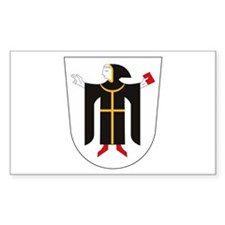 Munich Coat of Arms Rectangle Decal