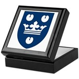 Copenhagen Coat of Arms Keepsake Box