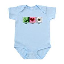 Peace Love Bugs Infant Bodysuit