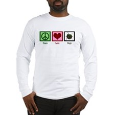 Peace Love Bugs Long Sleeve T-Shirt