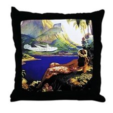 'Fly To South Sea Isles' Throw Pillow