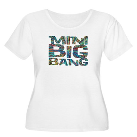 mini big bang Women's Plus Size Scoop Neck T-Shirt