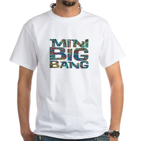 mini big bang White T-Shirt