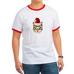 Holiday Chipmunk Men's Ringer T
