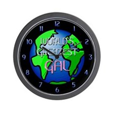 World's Greatest Gal Wall Clock