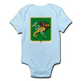 Khakov Coat of Arms Infant Creeper