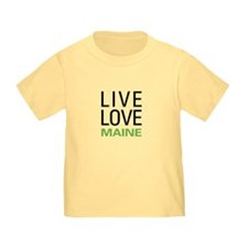 Live Love Maine T