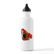 Christmas Horse Water Bottle