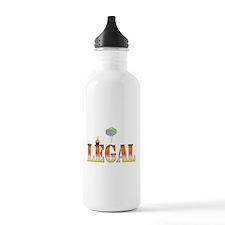 Finally Legal Birthday Water Bottle