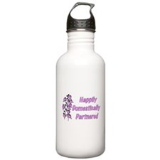 Happily Domestically Partnere Water Bottle
