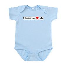 Christine Loves Me Infant Creeper