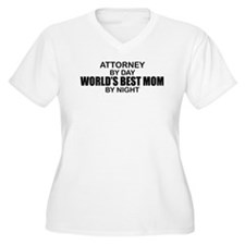 World's Best Mom - Attorney T-Shirt