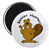 Beaver Hunter Magnet