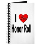 I Love Honor Roll Journal