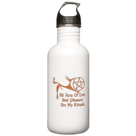Acts Of Love And Pleasure Stainless Water Bottle 1