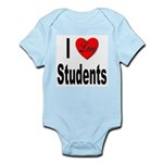 I Love Students Infant Creeper