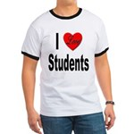 I Love Students (Front) Ringer T