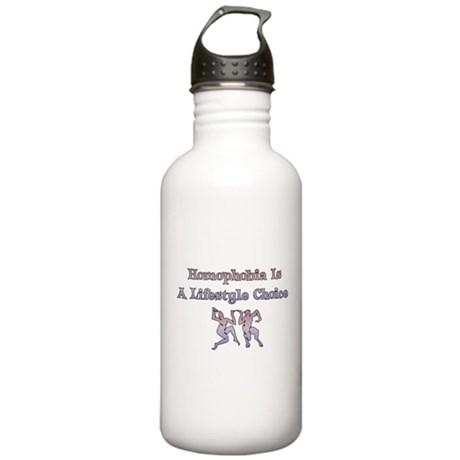 Homophobia Lifestyle Cho Stainless Water Bottle 1.