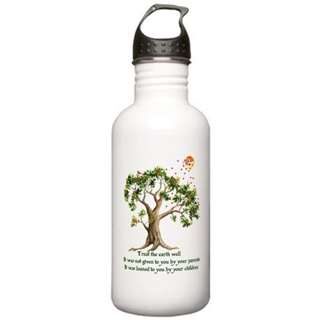 Kenyan Nature Proverb Stainless Water Bottle 1.0L