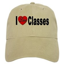 I Love Classes Baseball Cap