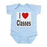 I Love Classes Infant Creeper