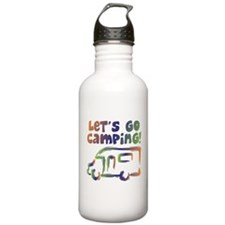 LET'S GO CAMPING! Water Bottle