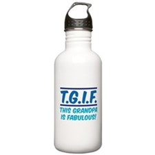 THIS GRANDPA IS FABULOUS! Water Bottle