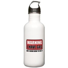 WARNING: I HAVE GAS Water Bottle