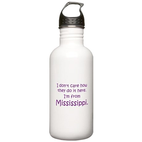 From Mississippi Stainless Water Bottle 1.0L