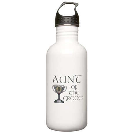 Celtic Aunt of Groom Stainless Water Bottle 1.0L